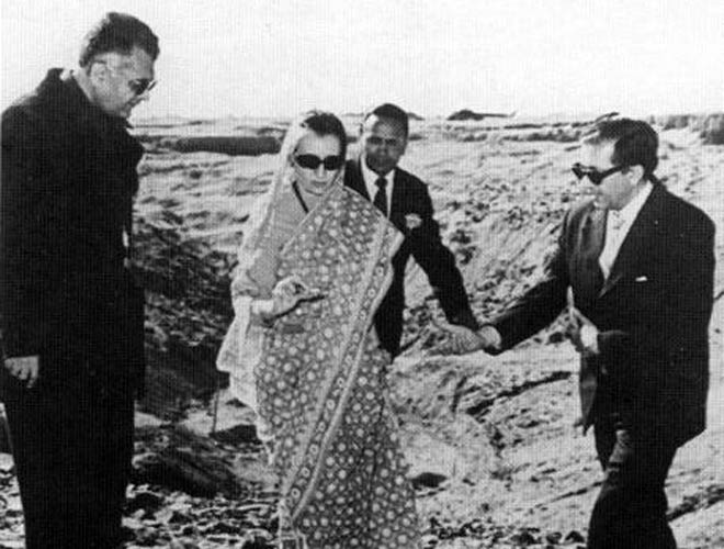 Image result for indira gandhi pokhran
