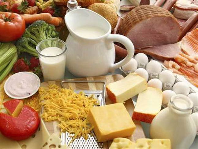 Chart All Foods Carbohydrate