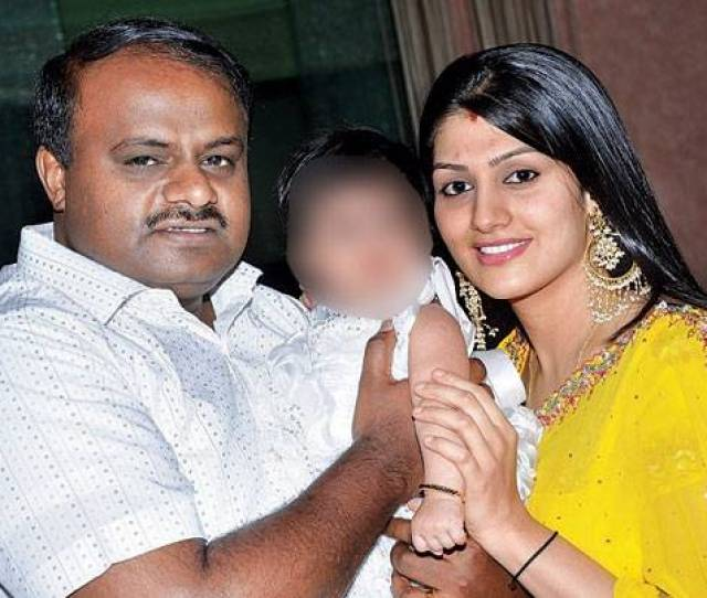 Though Former Cm Kumaraswamys Second Marriage To Radhika Is Known In Political Circles It Is