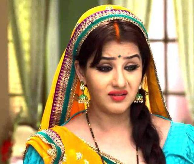 Shilpa Shinde In A Still From Bhabi Ji Ghar Par Hai Picture Courtesy Tv