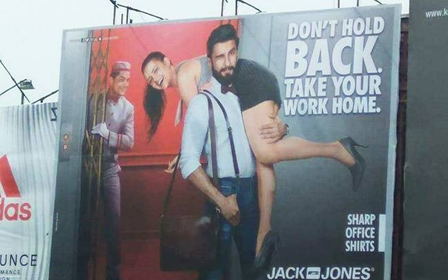 Ranveer Singh says sorry for the sexist ad