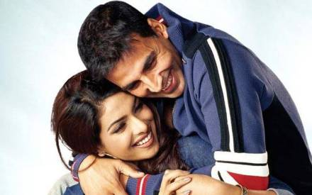 Image result for images of akshay kumar and priyanka chopra