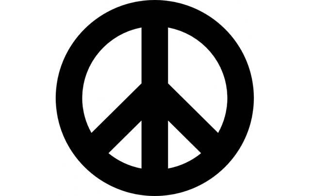The Peace Symbol Actually Shows A Despairing Person With Outstretched Arms Education Today News