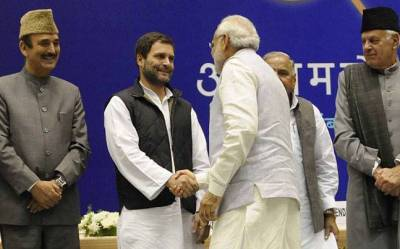 Image result for rahul gandhi with modi