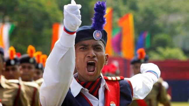 Cadet Claims NCC Is Indias Second Line Of Defence IT IS