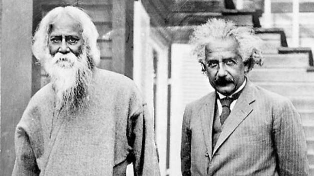 Image result for tagore and einstein