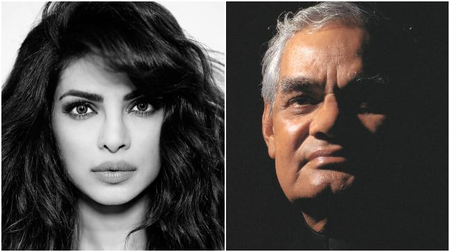 Priyanka Chopra mourned the death of former Indian Prime Minister Atal Bihari Vajpayee