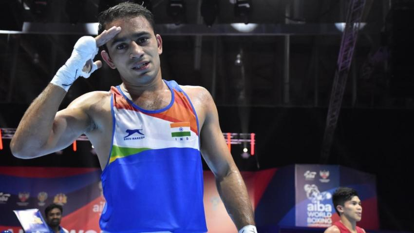 World Boxing Championships: Amit Panghal creates history, becomes first Indian male boxer to reach final - Sports News