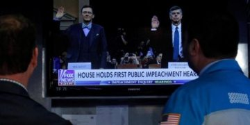 13.8 million Americans watched President Donald Trump's impeachment listening to: Nielsen
