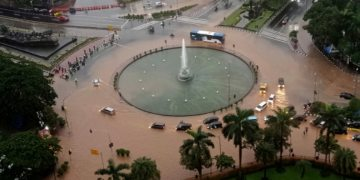Indonesia's capital hit by serious flooding for second time this year