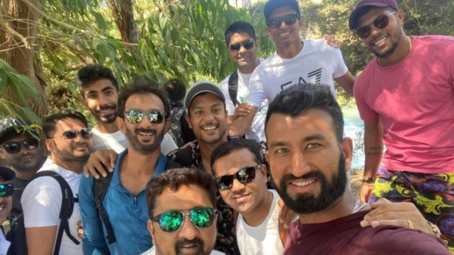 Walk through Blue Springs: Indian stars enjoy a day off in New Zealand before the test series
