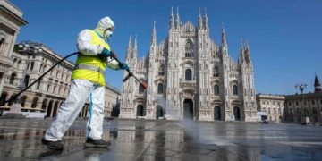 New coronavirus cases in Italy fall to 25-day low, deaths rise by 604