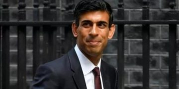 Rishi Sunak next in line as UK PM deputy after foreign minister