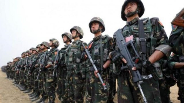The Western Theatre Command of the PLA guards the 3,488-km long Line of Actual Control (LAC) with India. (File photo: AFP)