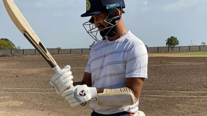 Pujara has been training at his academy, located in the outskirts of Rajkot (@cheteshwar.pujara Instagram Pho to)