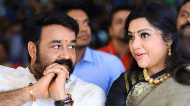 Mohanlal welcomes Meena to Drishyam 2 set on her 44th birthday
