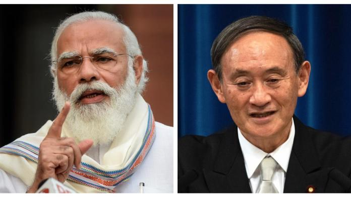 In first phone call, PM Modi and Japan's Yoshihide Suga agree to boost ties  - India News