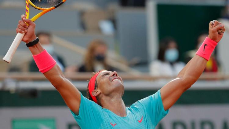 The World No. 2 Rafael Nadal won his 13th French Open on Sunday