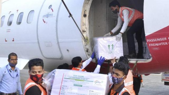 Covid-19 Jammu and Kashmir Srinagar Vaccine Covishield Covaxin first batch India healthcare workers frontline armed forces