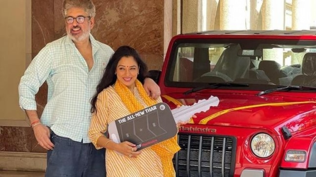 Rupali Ganguly buys chic Mahindra Thar worth Rs 14 lakh, said to be Indian buy Indian