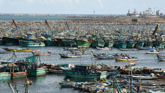 The fishermen from Tamil Nadu were held on Oct 11