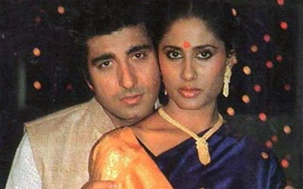 Image result for young raj babbar with smita patil