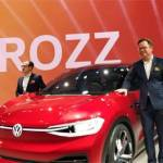 Auto Expo 2020 Volkswagen Unveils Electric Concept Id Crozz And Its Fastest Polo In India