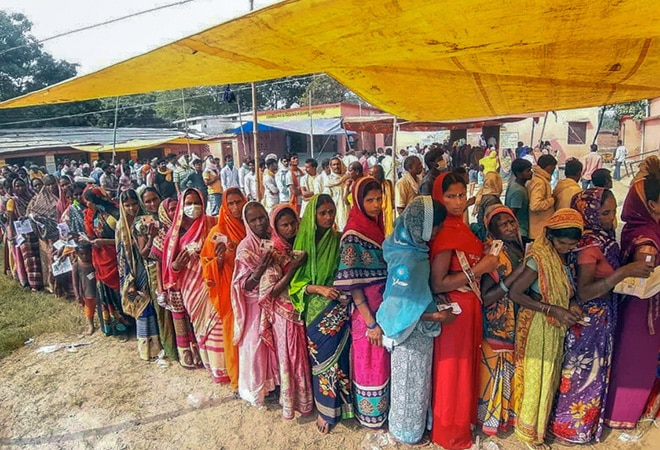 Bihar election 2020: 53.51% voter turnout in Phase 2 Assembly polls