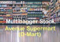 Grab the Multibagger Jackpot Stock - Avenue Supermarts (D-Mart) & Make Tons of Money Online