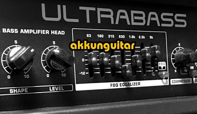 ベースアンプでギターを鳴らす! ★べリンガー、安いヤツなんだけど結構使えるんです!