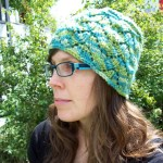 Leafalicious Hat Pattern #topdown #knitting #hats #lace