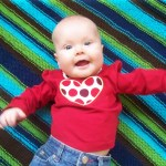 UnBaby Baby Blanket Pattern. aknitica.com #knitting #blankets #baby