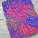 Kindle Cover, Sock-Yarn Blankie Style