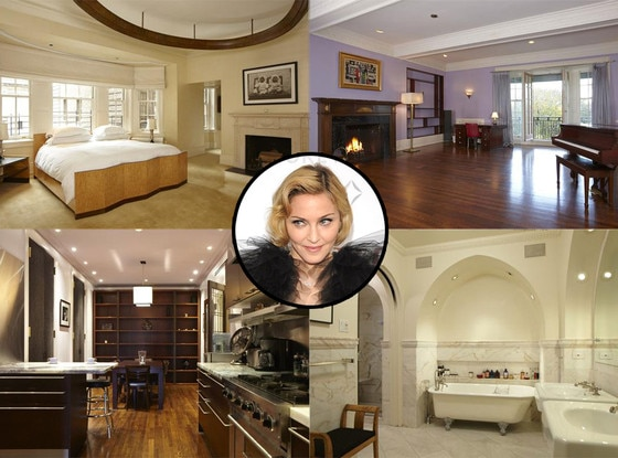 Madonna S New York Apartment E News