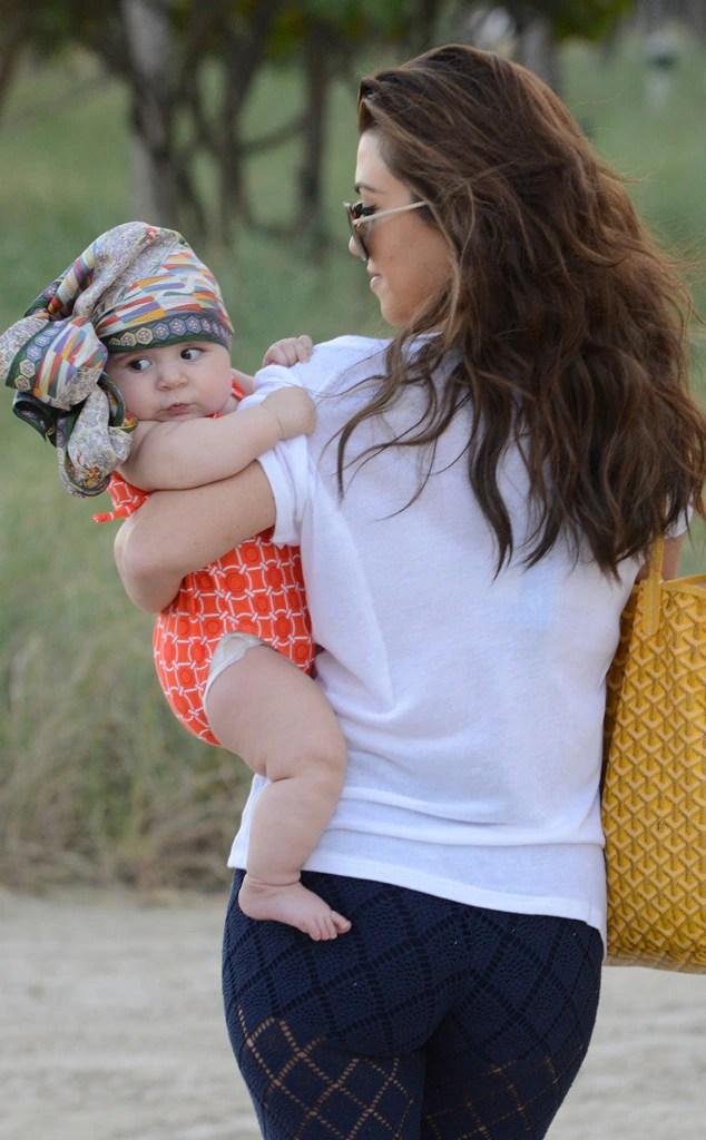 Kourtney Kardashian's Baby Daughter, Penelope, Rocks ...