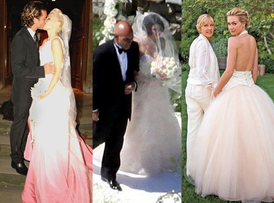 Brides In Pink! Jessica Biel, Gwen Stefani And Plenty More
