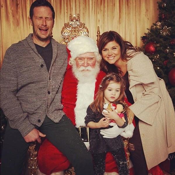 Tiffani Thiessen From Celebrity Christmas Cards E News