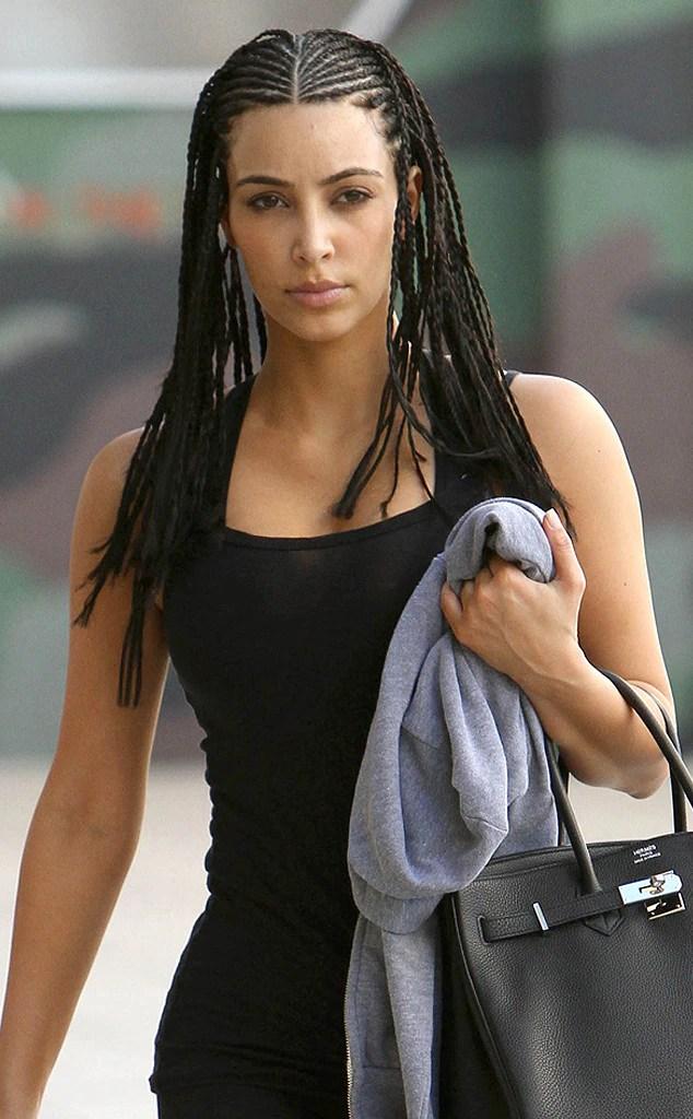 Kims Bo Derek Braids From Kardashians Best Hair Moments
