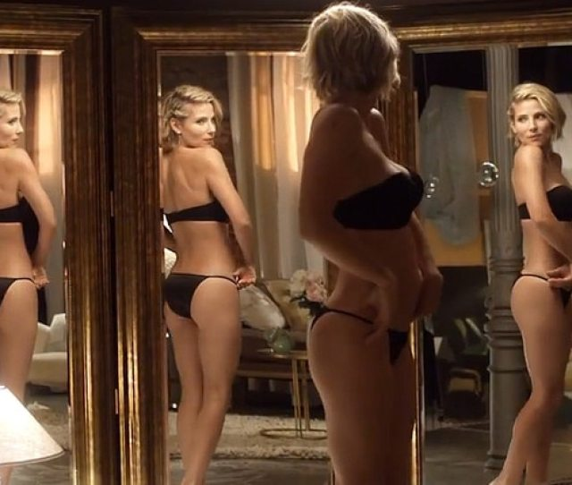 Elsa Pataky Strips Down To Lingerie  Months After Giving Birth