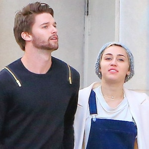 Miley Cyrus and Patrick Schwarzenegger Go Christmas ...