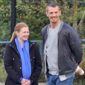 Joel Kinnaman Back To Work On The Killing All Smiles With