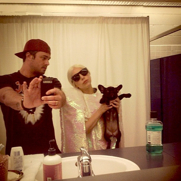 Lady Gaga Wishes Her Hero Taylor Kinney A Happy Birthday See The Couples Cutest Pics E News