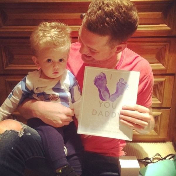 Michael Bublé Celebrates His First Father's Day: Get the ...