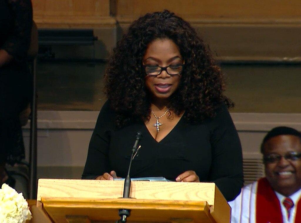 Maya Angelou Remembered at Memorial Service, Oprah Winfrey ...