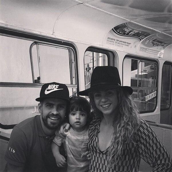 Shakira, Gerard Pique, Milan