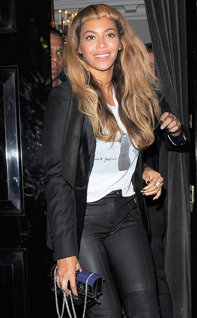 Beyonc Shows Off New Hairstyle And Killer Figure During