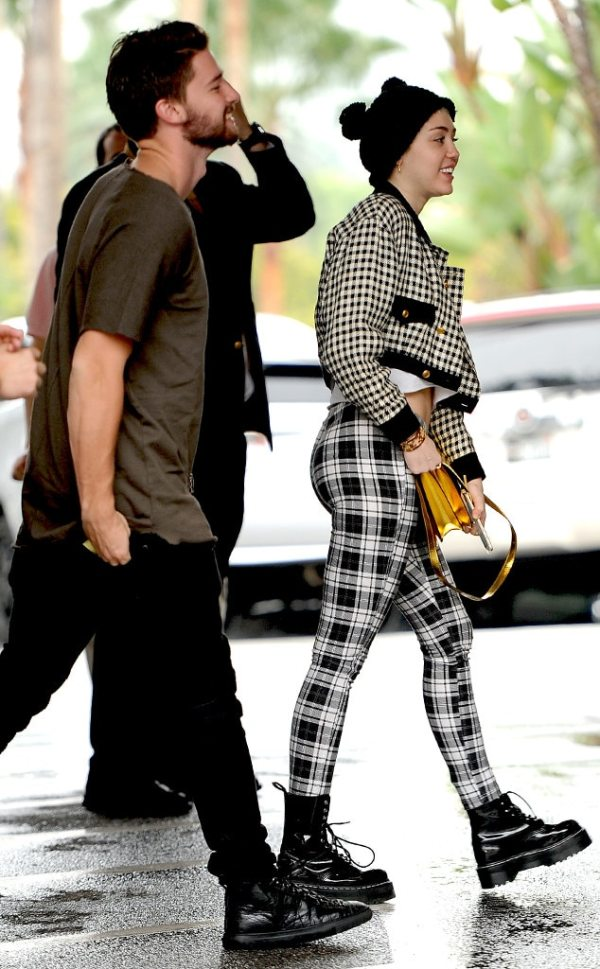 Arriving Together in Style from Miley Cyrus & Patrick ...