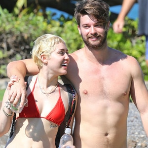 Miley Cyrus and Shirtless Patrick Schwarzenegger Get Their ...