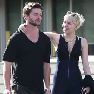 Miley Cyrus and Patrick Schwarzenegger Have PDA-Packed ...