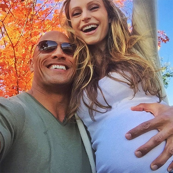 Dwayne The Rock Johnson and Girlfriend Lauren Hashian Welcome Baby Girl | E! News France